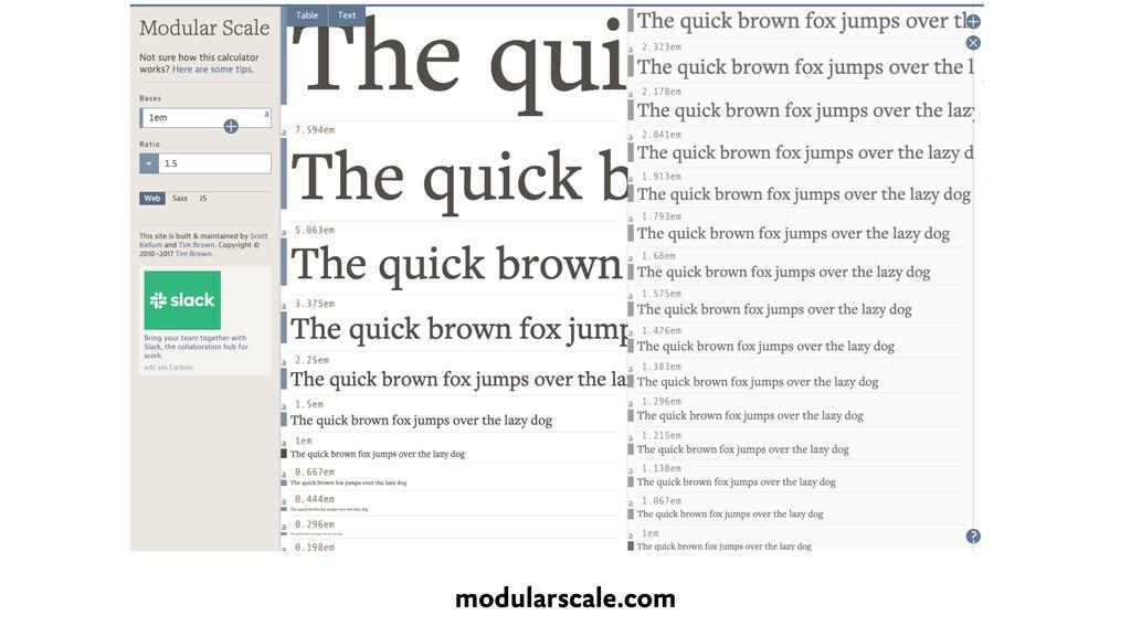 modularscale.com