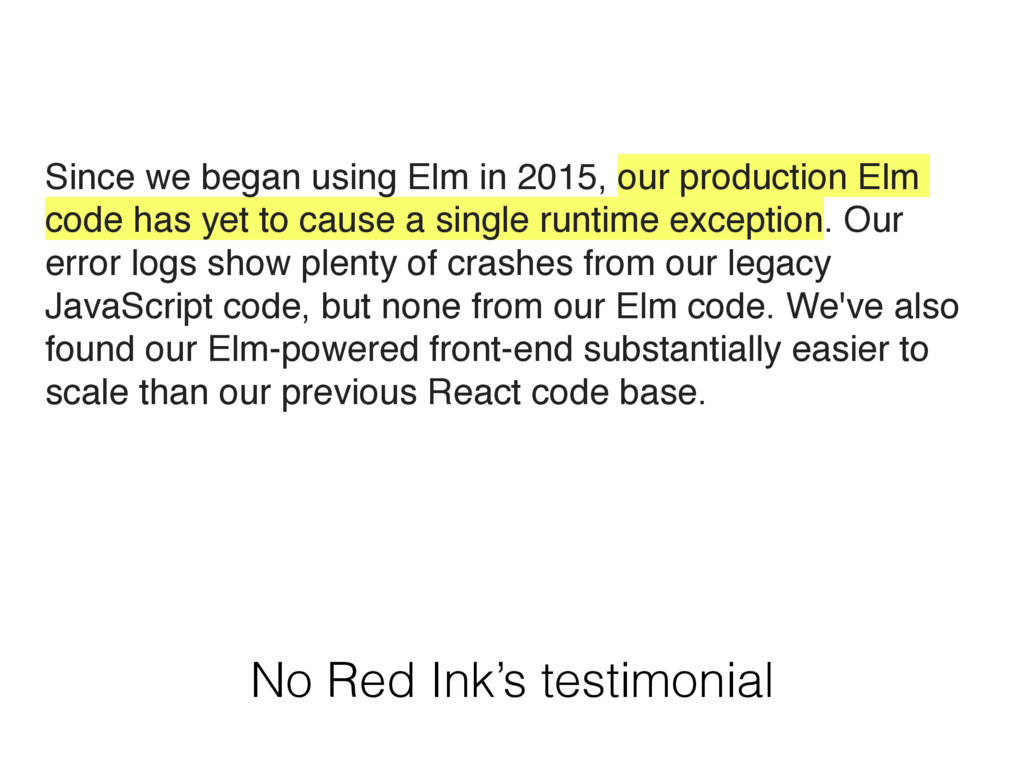 No Red Ink's testimonial Since we began using E...