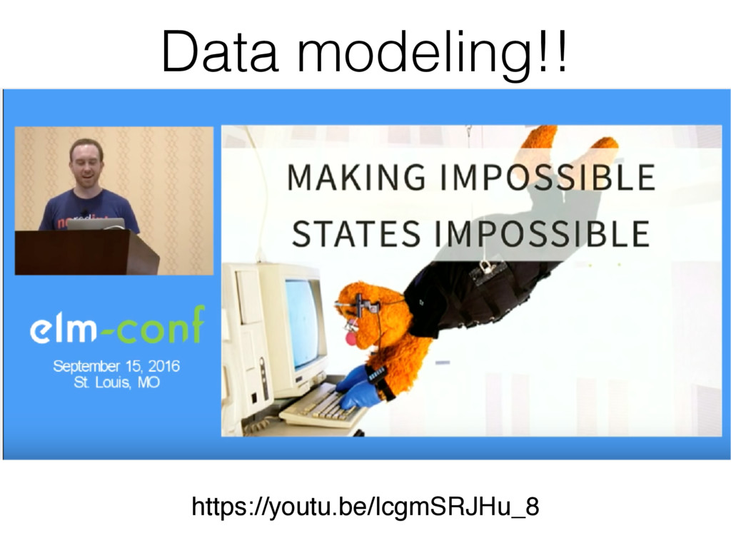 Data modeling!! https://youtu.be/IcgmSRJHu_8