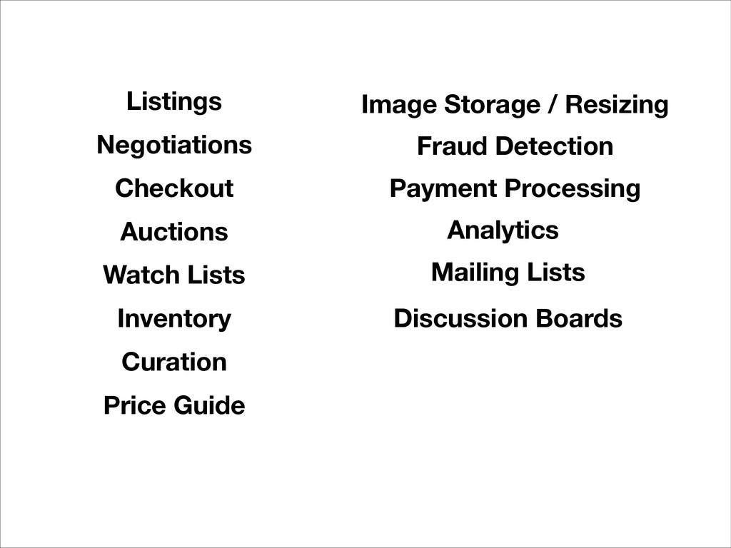 Curation Negotiations Auctions Inventory Listin...