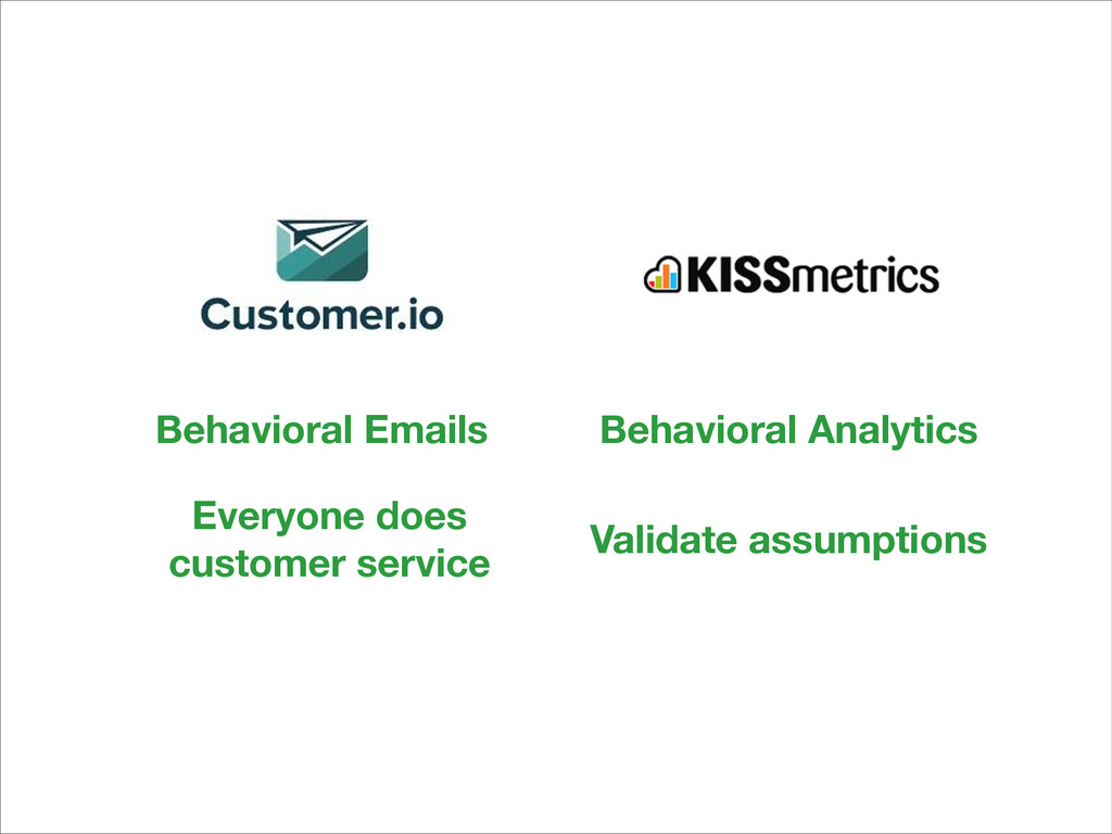 Behavioral Emails Everyone does 