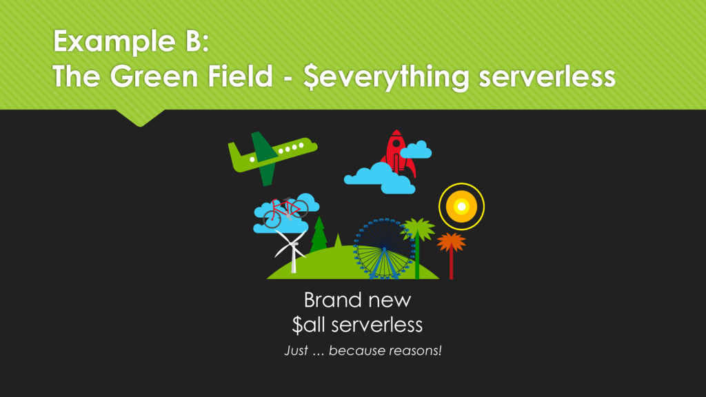 Example B: The Green Field - $everything server...