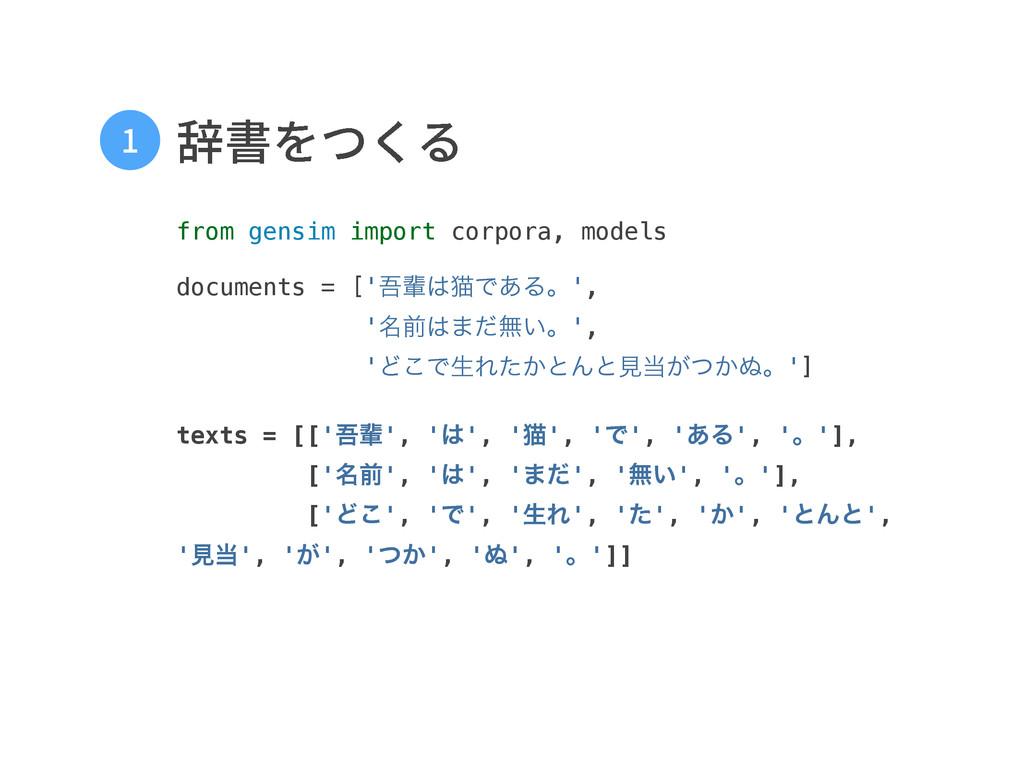 鳤剅אֻ from gensim import corpora, models  d...