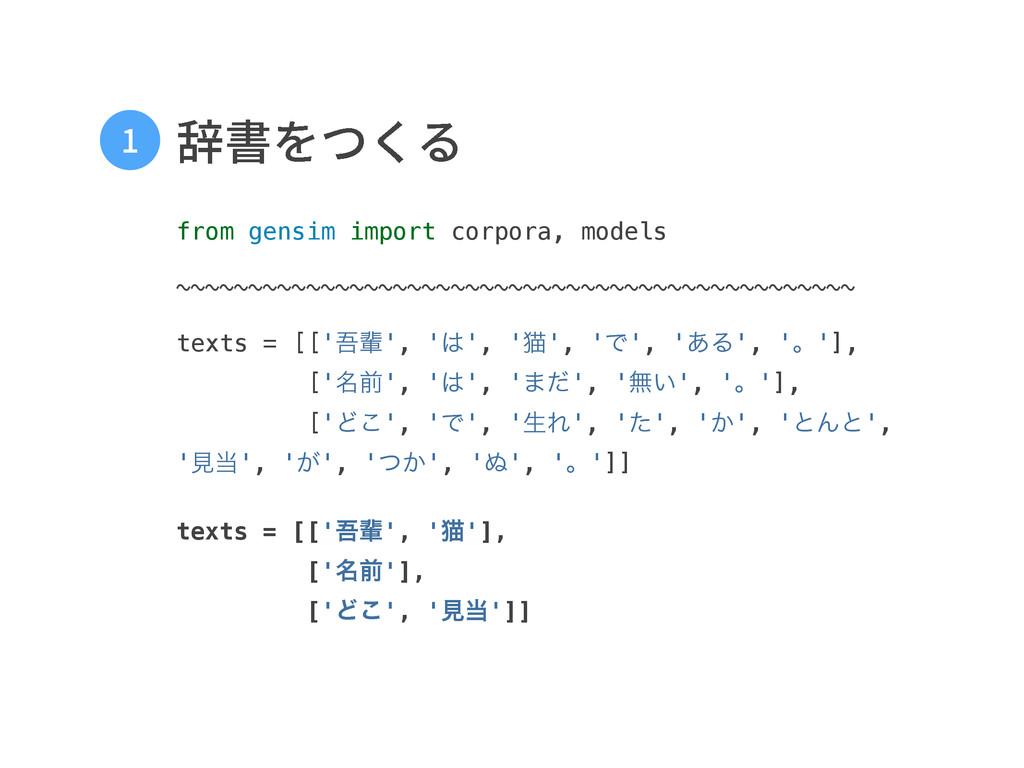 鳤剅אֻ from gensim import corpora, models  ~...