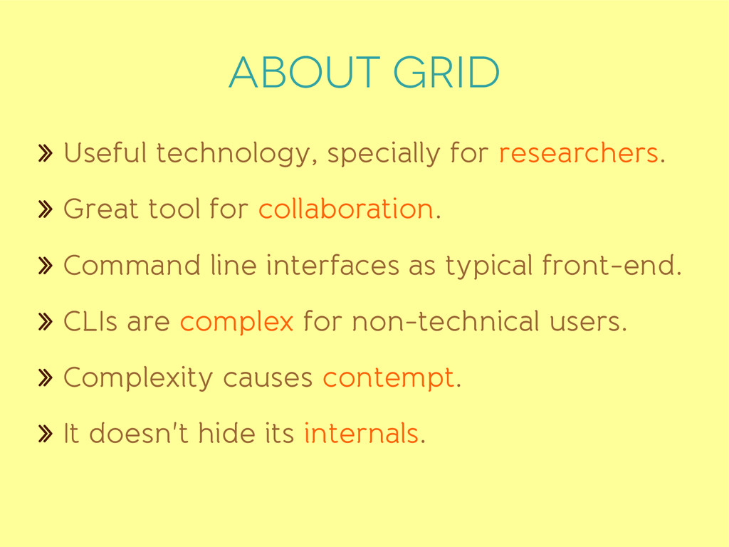 ABOUT grid » Useful technology, specially for r...
