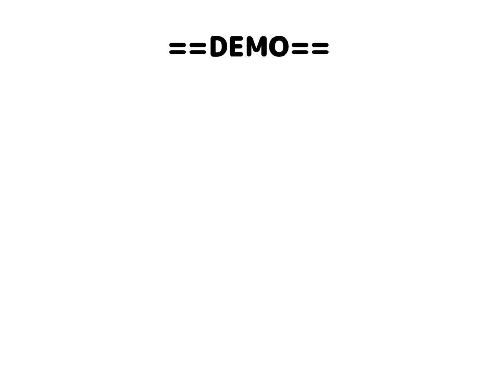 ==DEMO==