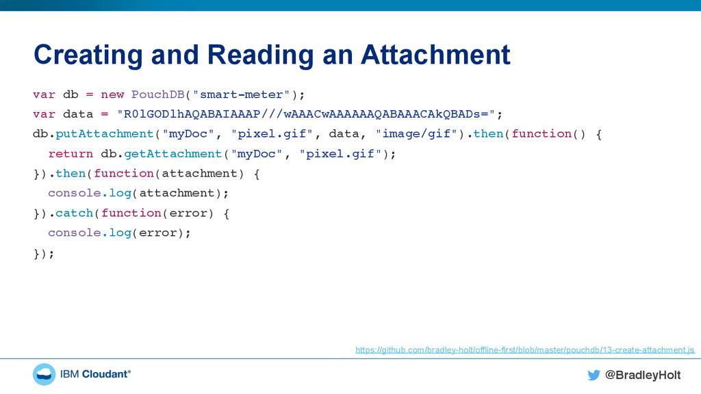 @BradleyHolt! Creating and Reading an Attachmen...