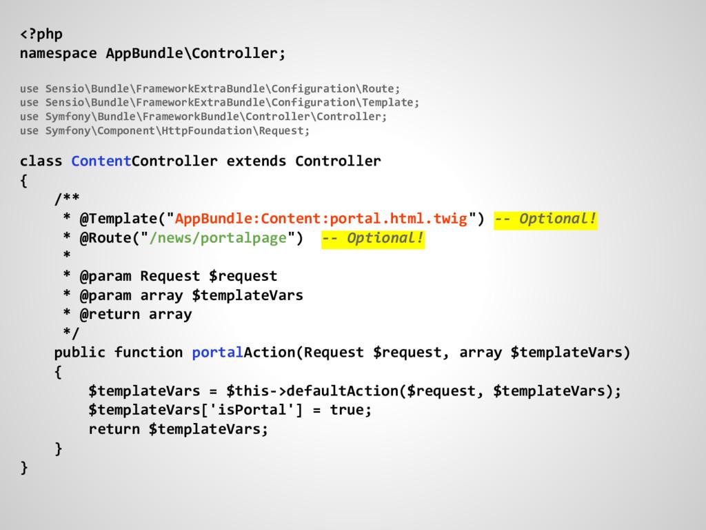 <?php namespace AppBundle\Controller; use Sensi...