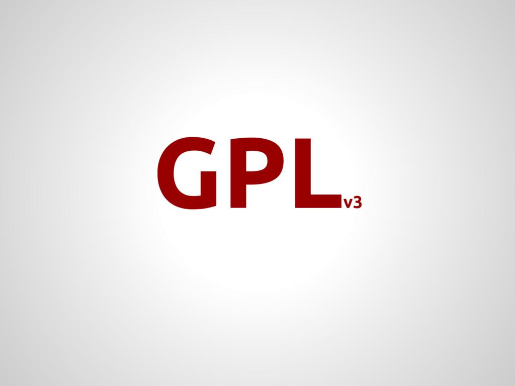 GPL v3
