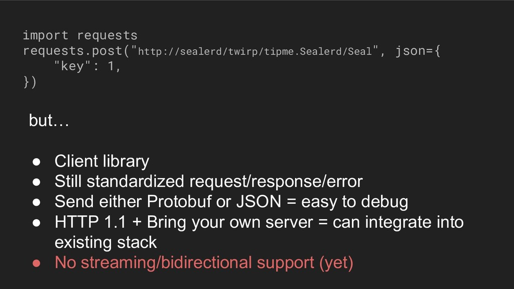 """import requests requests.post(""""http://sealerd/t..."""