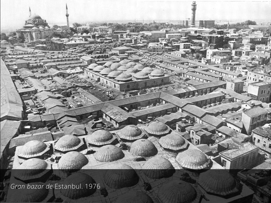 Gran bazar de Estanbul. 1976