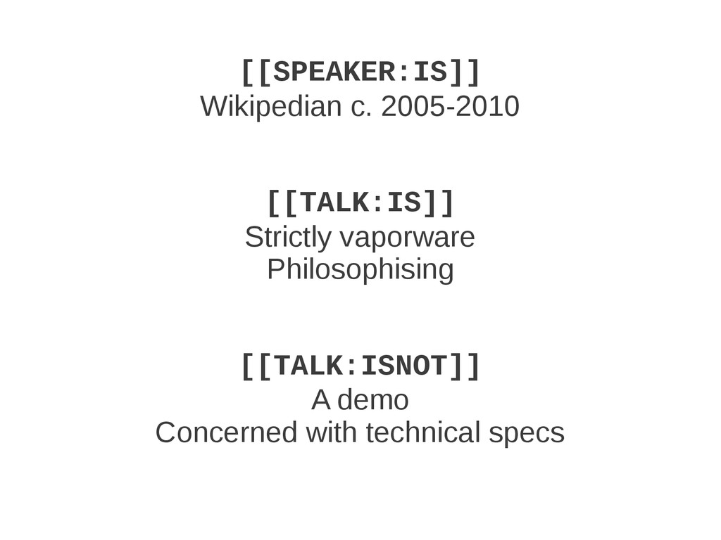 [[SPEAKER:IS]] Wikipedian c. 2005-2010 [[TALK:I...