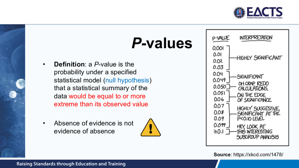 P-values • Definition: a P-value is the probabi...