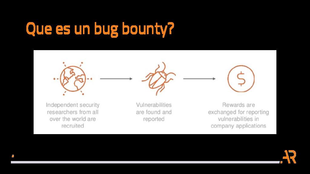 Que es un bug bounty?