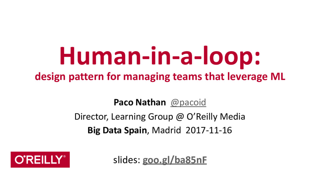 Human-‐in-‐a-‐loop:  design pattern ...