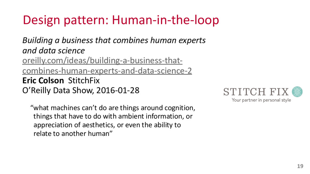 Design pattern: Human-‐in-‐the-‐loop B...