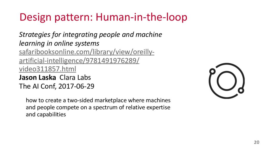 Design pattern: Human-‐in-‐the-‐loop S...