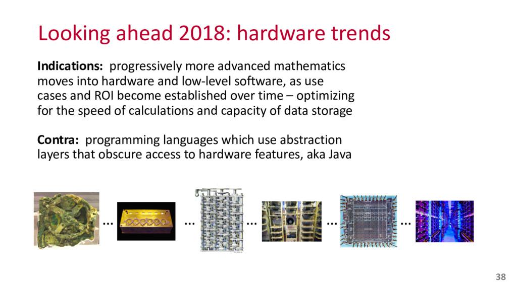 Looking ahead 2018: hardware trends...
