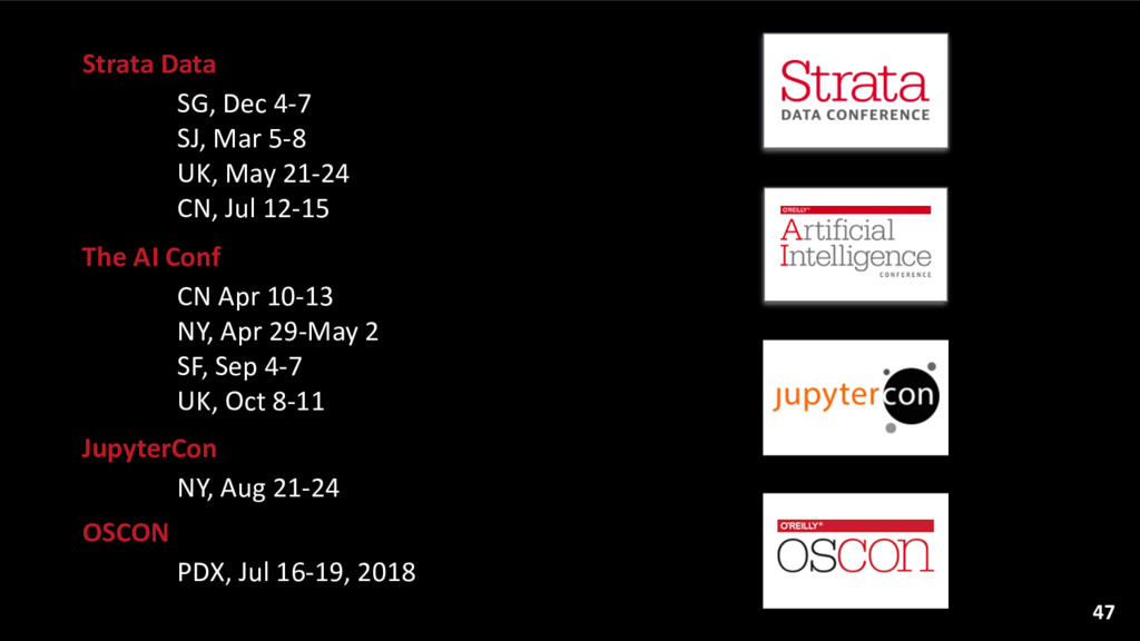 Strata Data  SG, Dec 4-‐7 SJ, ...