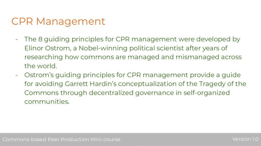 CPR Management - The 8 guiding principles for C...