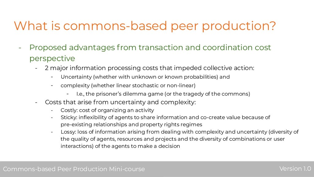 What is commons-based peer production? - Propos...