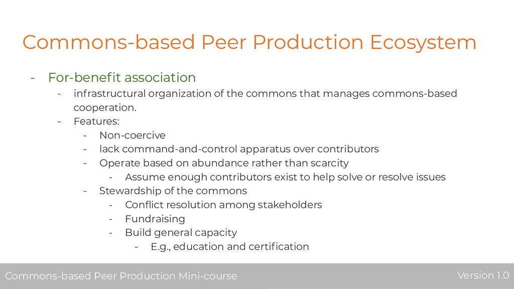 Commons-based Peer Production Ecosystem - For-b...