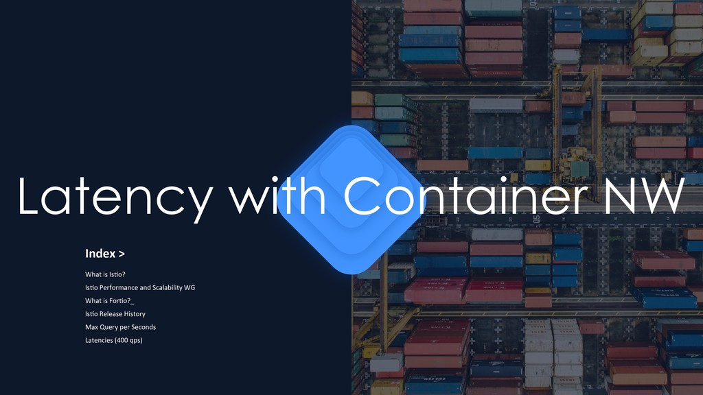 Latency with Container NW Index > What is Is1o?...