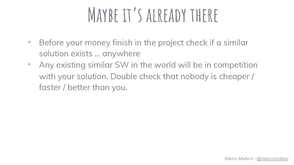 Maybe it's already there • Before your money fi...