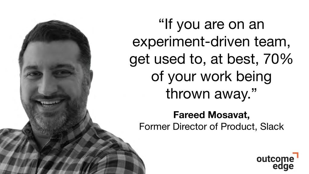 Fareed Mosavat, Former Director of Product, Sla...