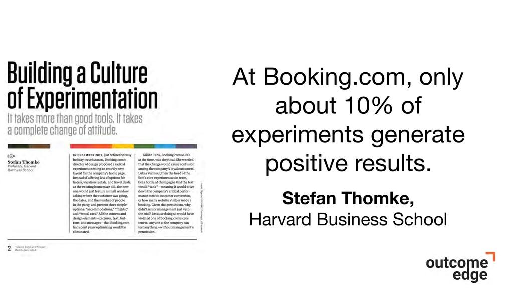 Stefan Thomke, Harvard Business School At Booki...