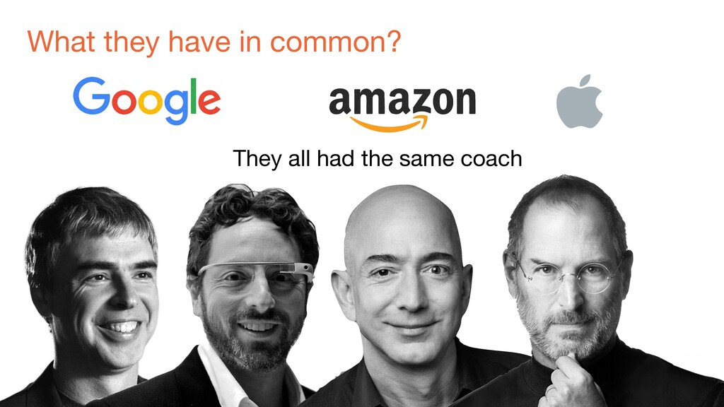 What they have in common? They all had the same...