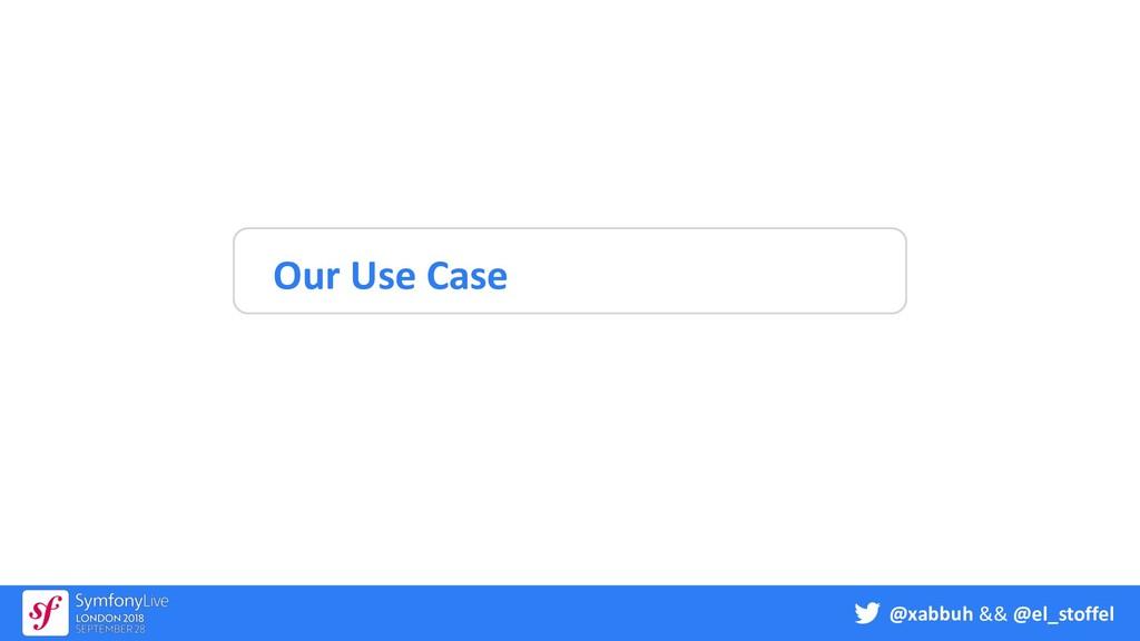 @xabbuh && @el_stoffel Our Use Case