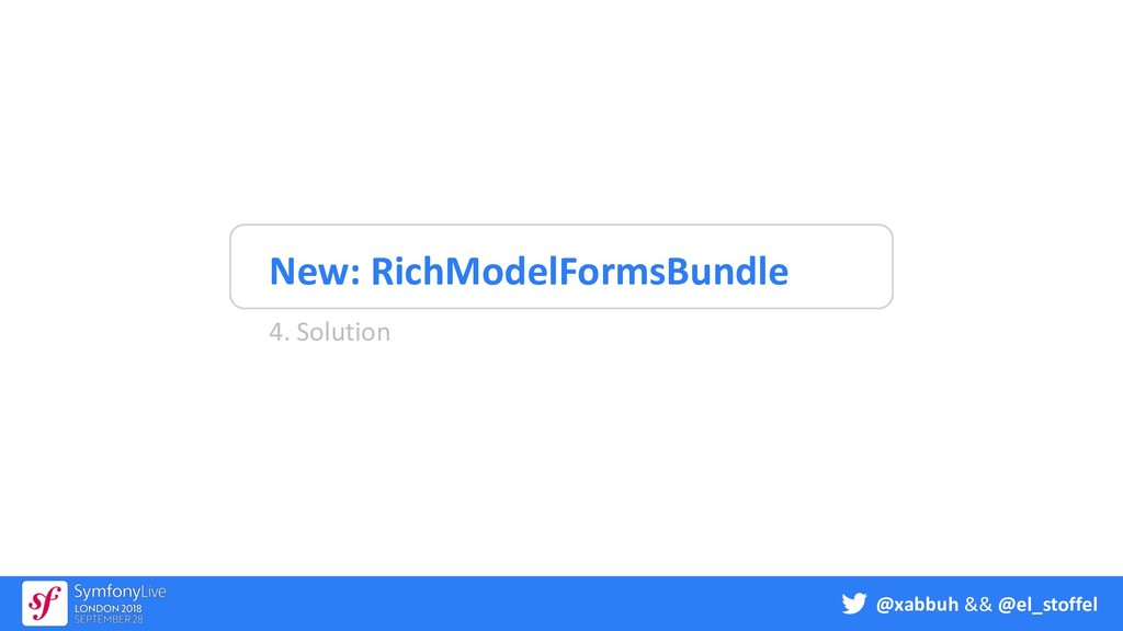 @xabbuh && @el_stoffel New: RichModelFormsBundl...