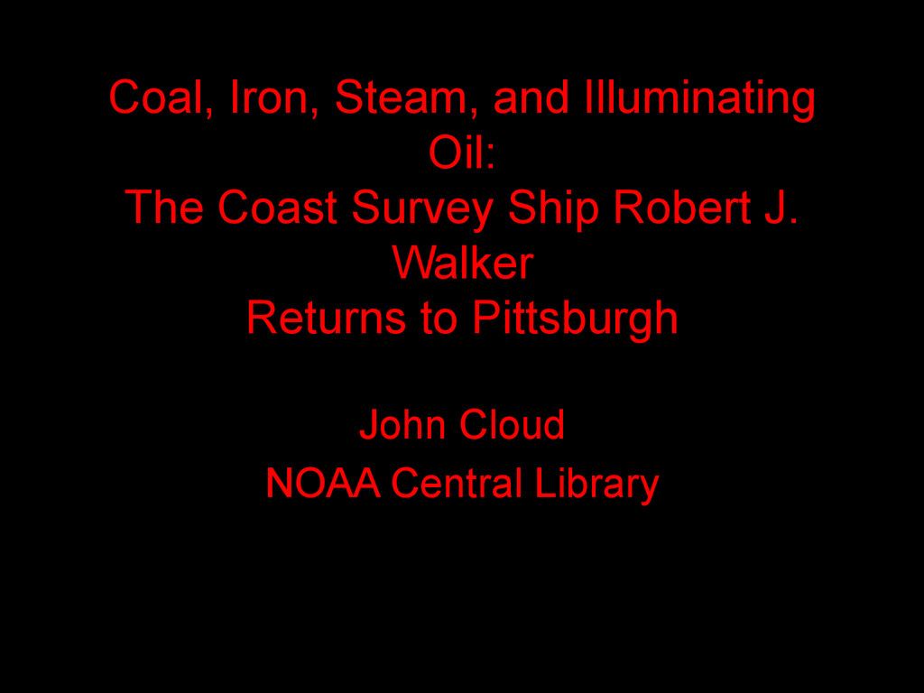 Coal, Iron, Steam, and Illuminating Oil: The Co...
