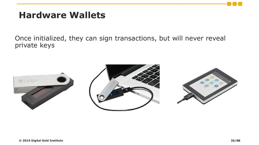 Once initialized, they can sign transactions, b...