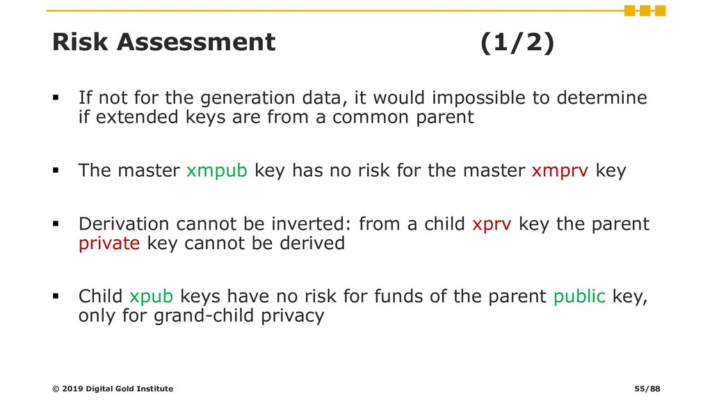 Risk Assessment (1/2) ▪ If not for the generati...