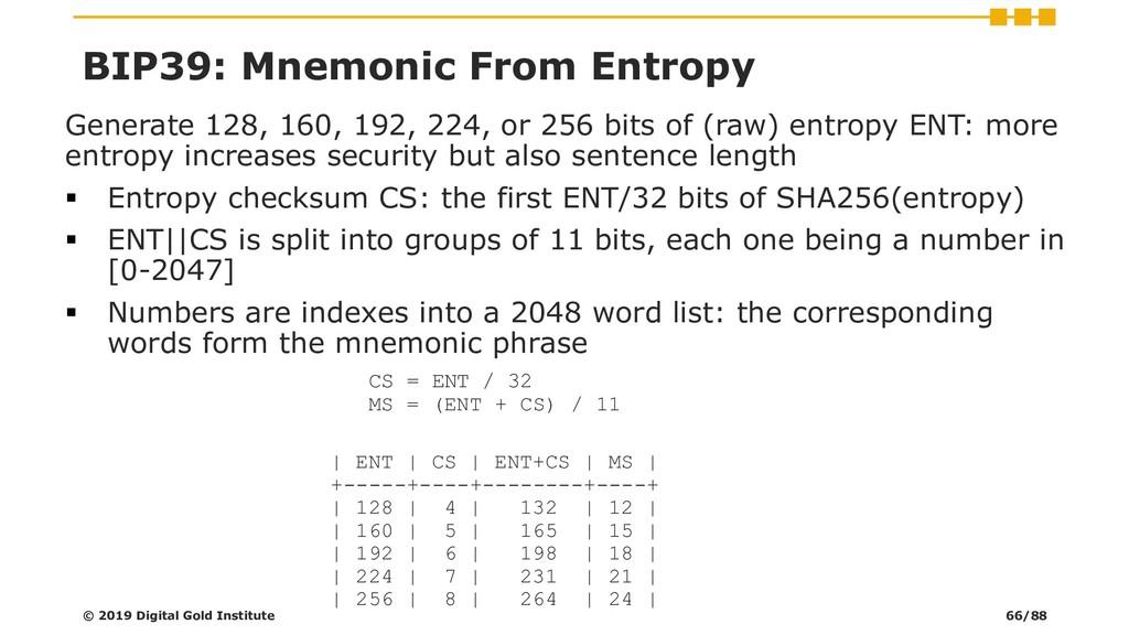 Generate 128, 160, 192, 224, or 256 bits of (ra...