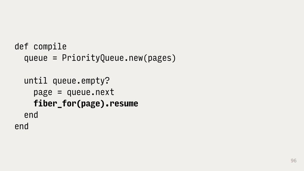 96 def compile queue = PriorityQueue.new(pages)...