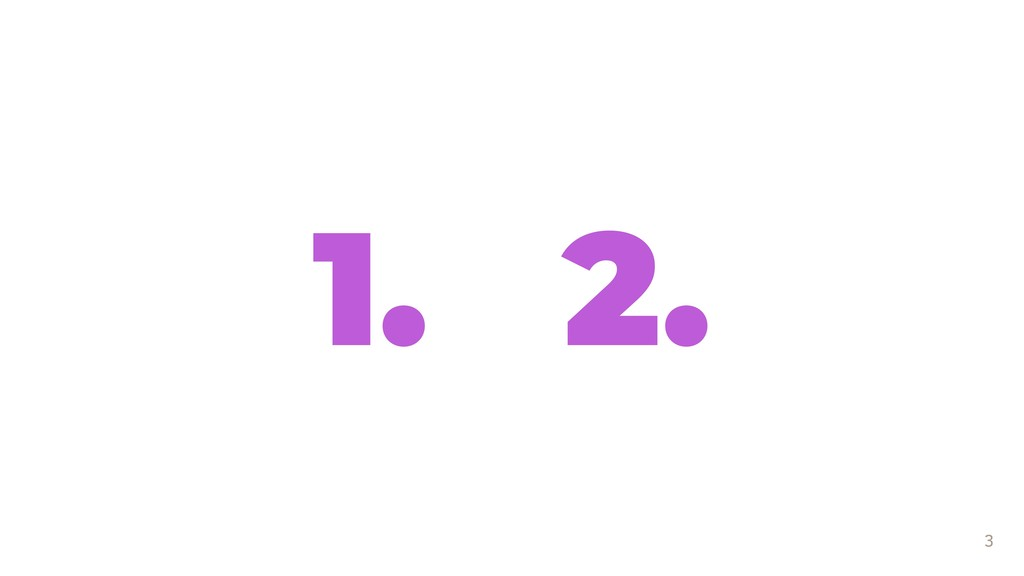 3 1. 2.