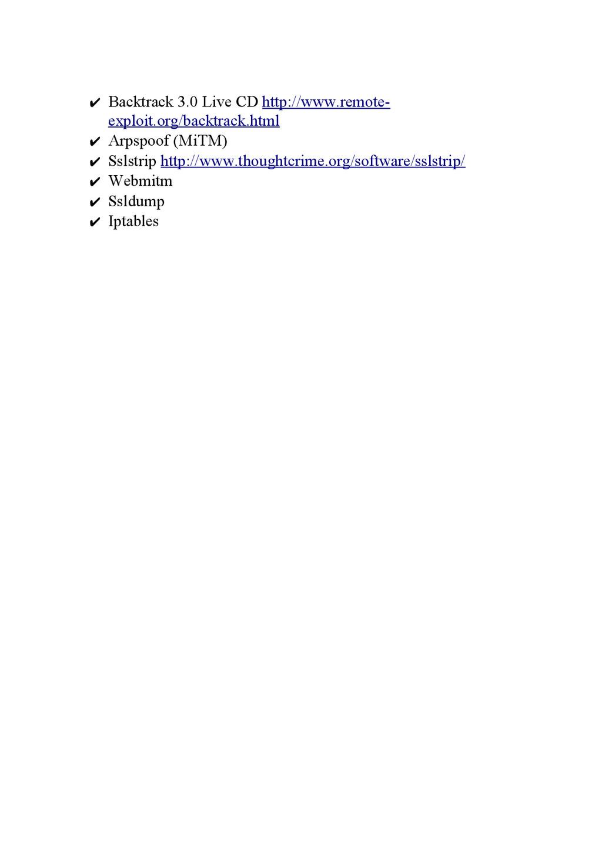 ✔ Backtrack 3.0 Live CD http://www.remote- expl...