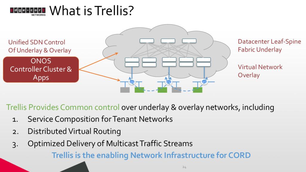 What is Trellis? 24 Datacenter Leaf-Spine Fabri...