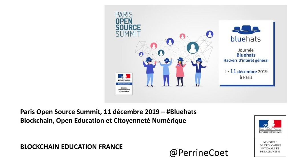 @PerrineCoet Paris Open Source Summit, 11 décem...