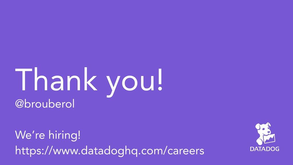 Thank you! @brouberol  We're hiring! https://...