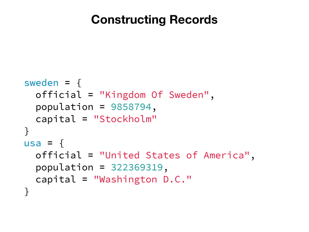 "Constructing Records sweden = { official = ""Kin..."