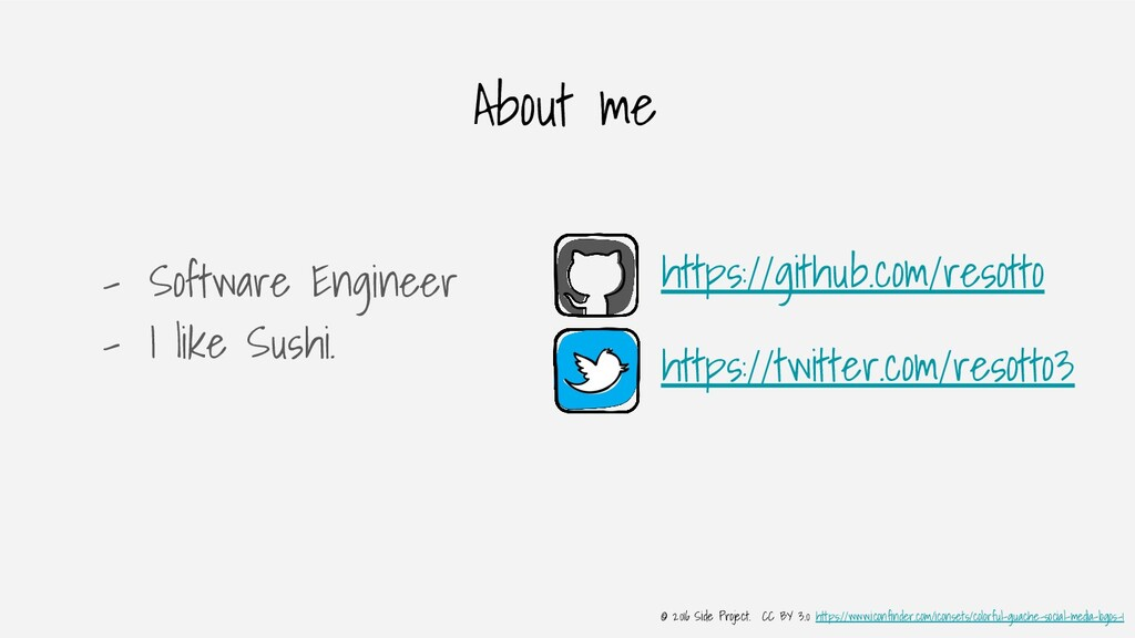 About me - Software Engineer - I like Sushi. ht...