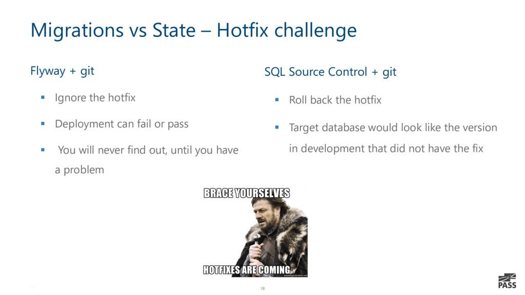 18 Migrations vs State – Hotfix challenge Flywa...