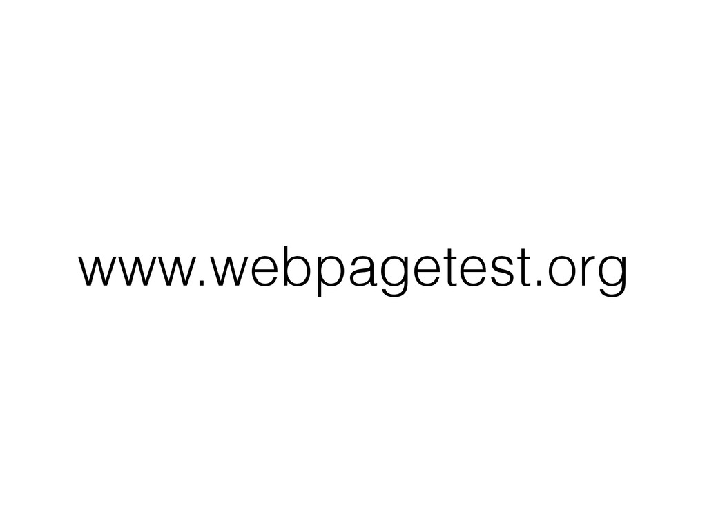 www.webpagetest.org