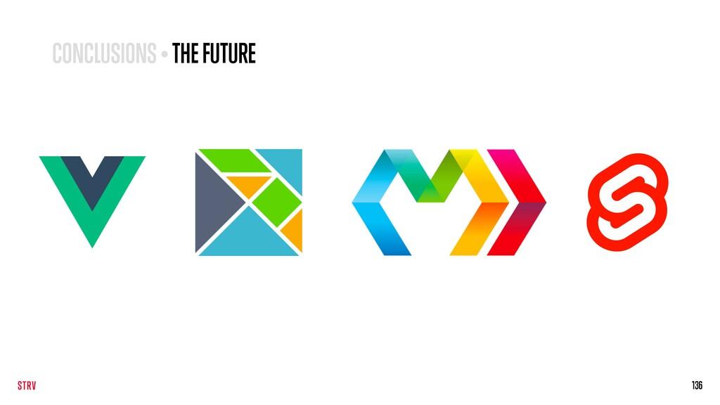 136 CONCLUSIONS • THE FUTURE