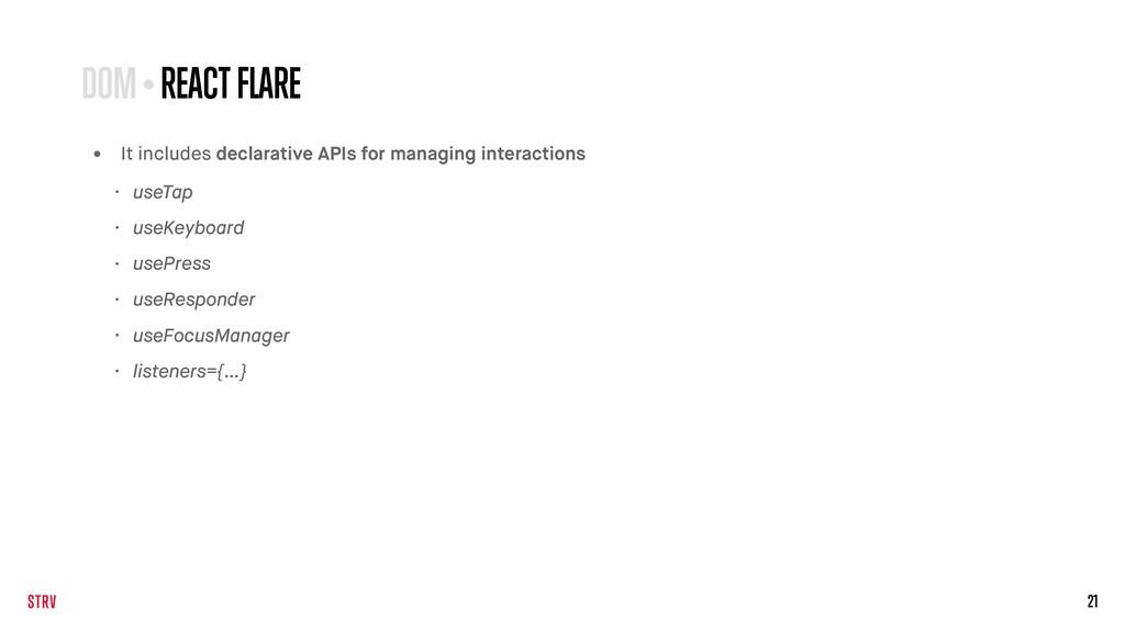21 • It includes declarative APIs for managing ...