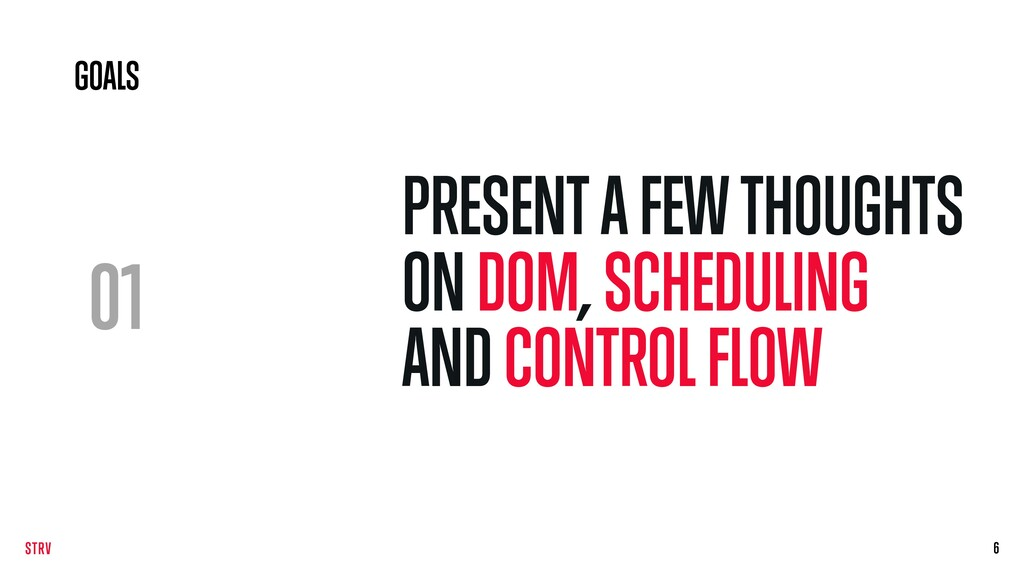 01 PRESENT A FEW THOUGHTS ON DOM, SCHEDULING AN...
